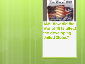 Ch. 14 Jackson and the Growth of Am. Democracy Timeline ...