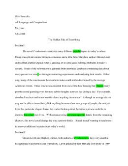 freakonomics study guide hinsdale central high school boncella researched argument essay