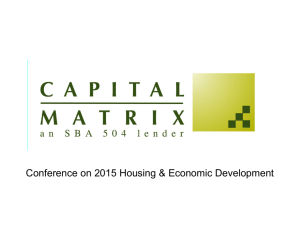 View Ann's Presentation 1 - 2015 Conference on Housing and