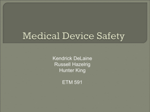 Medical Device Safety