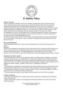 E-Safety Policy 2015 - Fairway Primary School