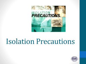 Isolation Precautions - International Federation of Infection Control