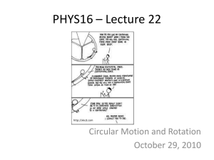 PHYS16 - Lecture 22