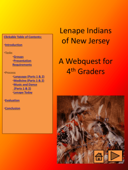 MCOM510 Lenape Webquest revised 11-11-10 97