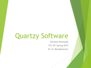 Quartzy Software - University of Hawaii