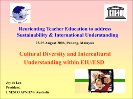 UNESCO Universal Declaration on Cultural Diversity (2001)