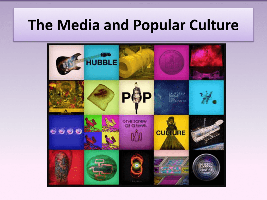 mass media and culture