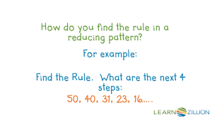 Determine the Rule - Grade 4 Common Core Math