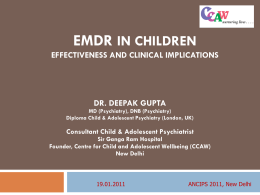 EMDR in Trauma: Effectiveness and Clinical