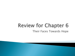 Review for Chapter 7 - Mount Logan Middle School