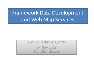 WV Framework Data Report - West Virginia GIS Technical Center