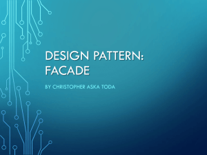 Design Pattern: Facade