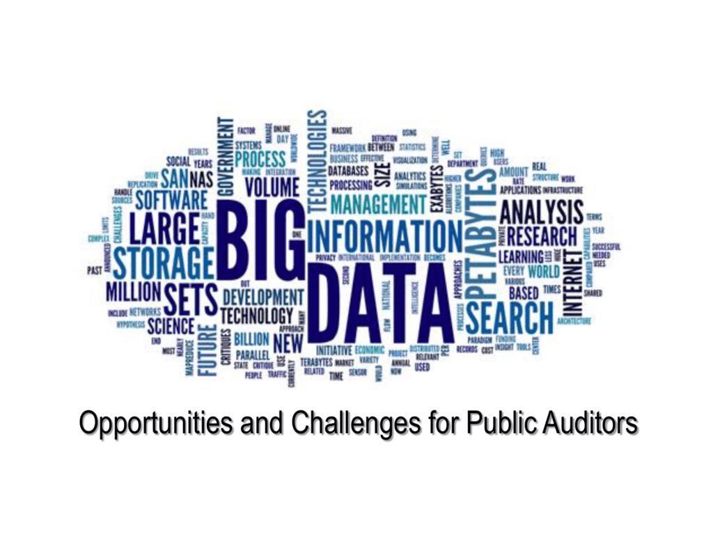 Big data analytics - INTOSAI Working Group on IT Audit