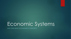 Economic Systems - West Ada School District