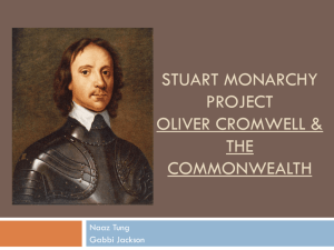 A. Cromwell's Relationship with Parliament