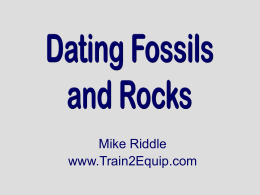 Carbon dating sentence
