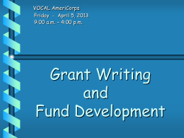 Types of Funding - Literacy Volunteers of Illinois