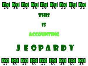 BAF-Accounting Jeopardy