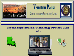Powerpoint Part 2 - Vermilion Parish Schools