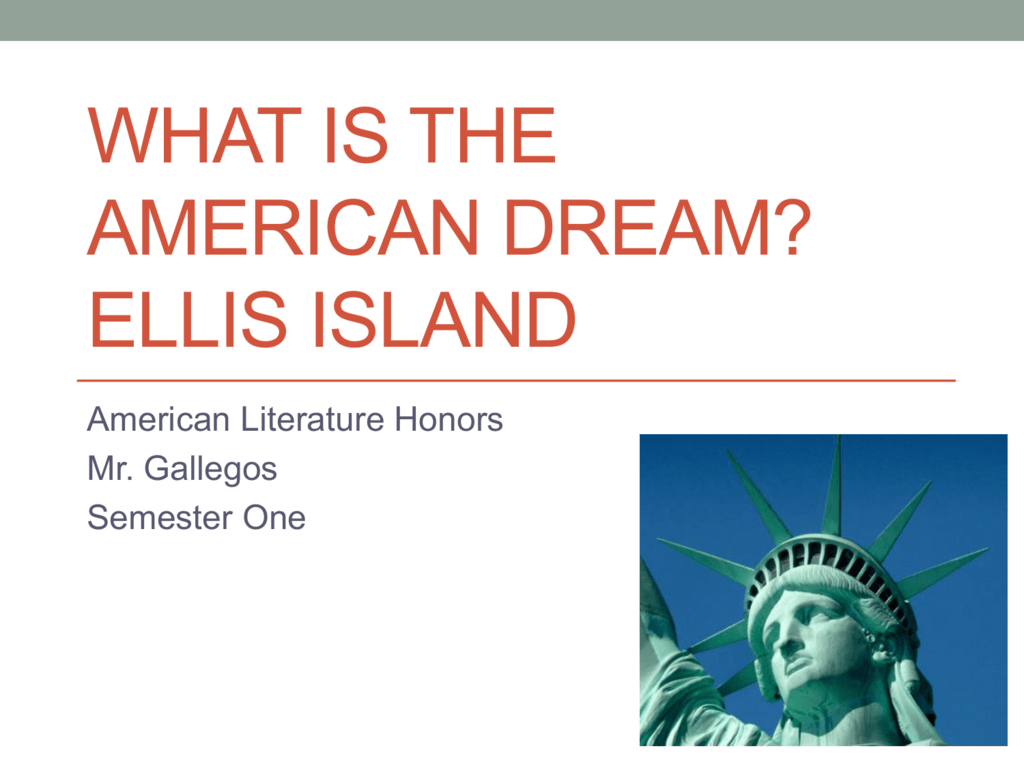 american dream in american literature