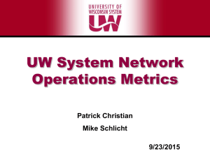 2015-09-23 - christian - UW-System Network Operations Update