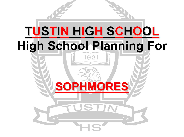 Tustin High School - Tustin, California