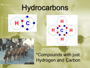 Day 121 Hydrocarbons - Day 1 Introduction to Chemistry and