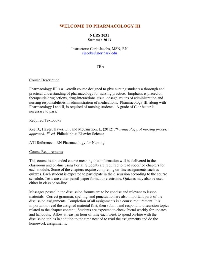 pharmacology iii - Portal