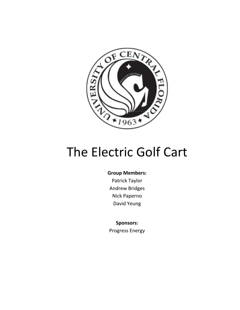 211 Golf Cart Department Of Electrical Engineering And Computer Supply Constant Current Charger Circuit Switchingregulatorcircuit