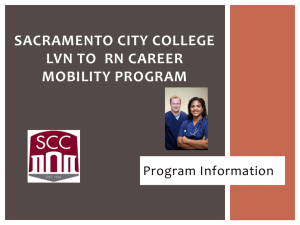 Career Mobility Program - Sacramento City College