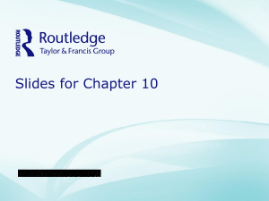 Chapter 10 - Amazon Web Services
