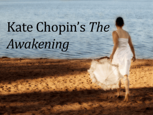 Kate Chopin*s The Awakening - Greer Middle College || Building the