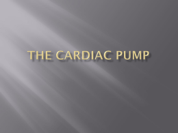 The Cardiac Pump - CriticalCareMedicine