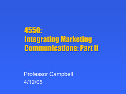 Advertising and Marketing Communications: 266B