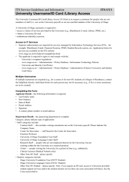 research study application form cael