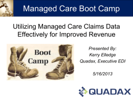Managed Care Bootcamp