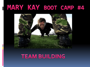 MARY KAY BOOT CAMP #4