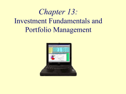 Fundamentals of Investing Chapter Fifteen