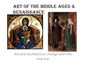 Art of the Middle Ages & Renaissance