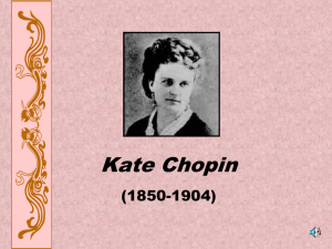 Kate Chopin - Ms. McGraw's Messages