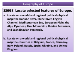 Geography of Europe 1