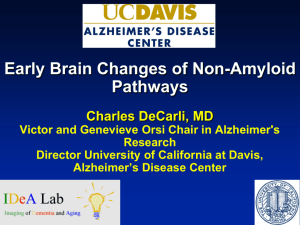 Slides - Alzheimer's Disease Center