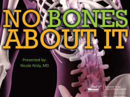 No Bones About It - University of Iowa Hospitals and Clinics