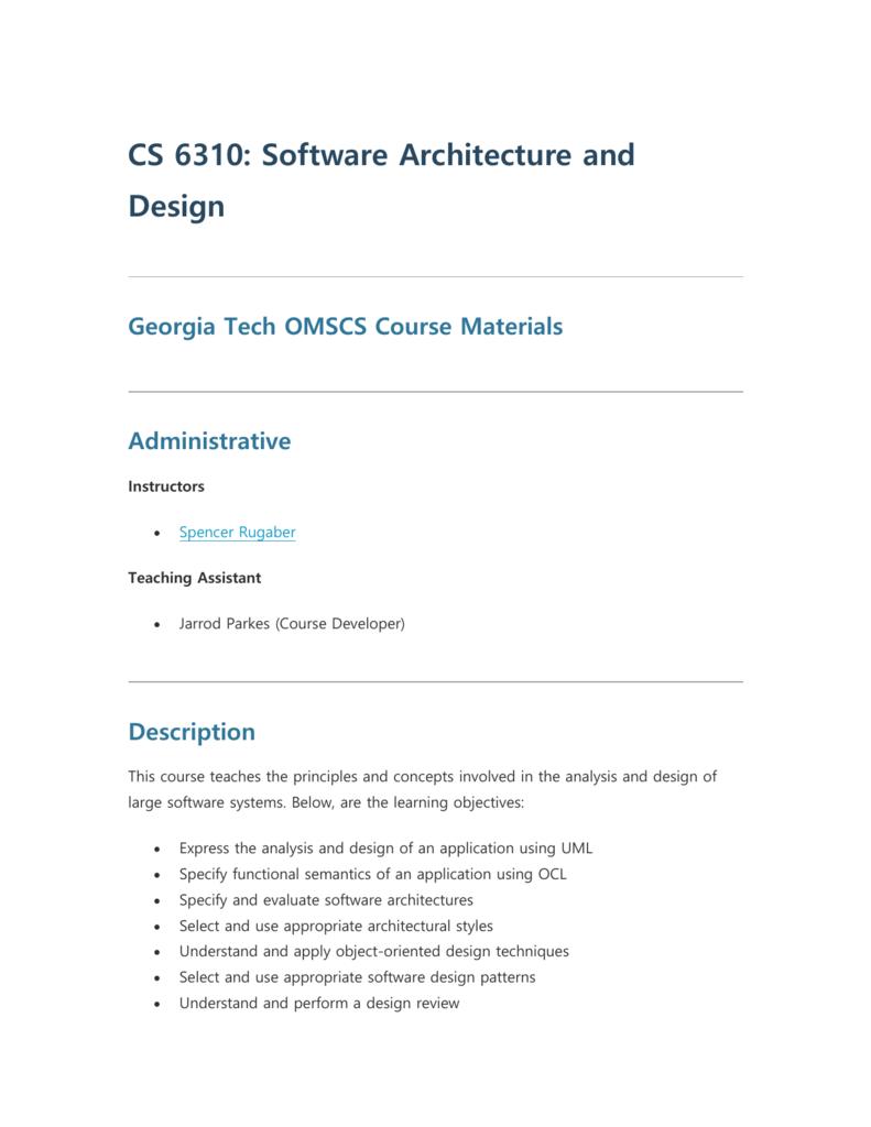 Cs Courses Gatech {PK Soft}