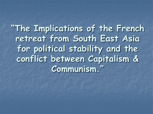 The Implications of the French retreat from South