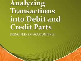Analyzing Transactions Presentation