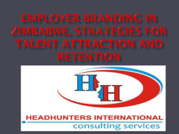characteristics of employer branding in an organisation