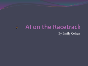 AI on the Racetrack