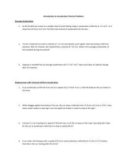 Displacement Velocity And Acceleration Worksheet