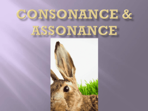 Consonance & Assonance PPT